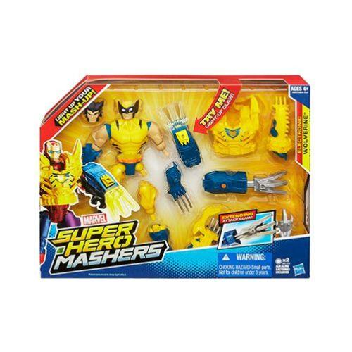$9.99 Marvel Super Hero Mashers Electronic Wolverine Figure