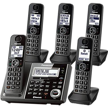 $69.99 Panasonic Link2Cell Cordless Phone and Answering Machine