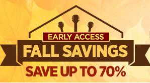 Save up to 70% Fall Doorbusters Early Access@ Musicians Friend
