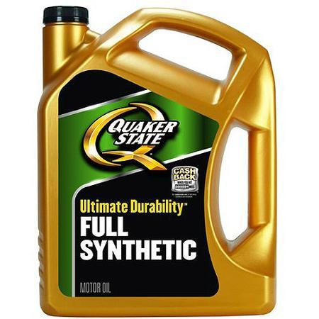 $11.97 Quaker State Ultimate Durability Full Synthetic Motor Oil