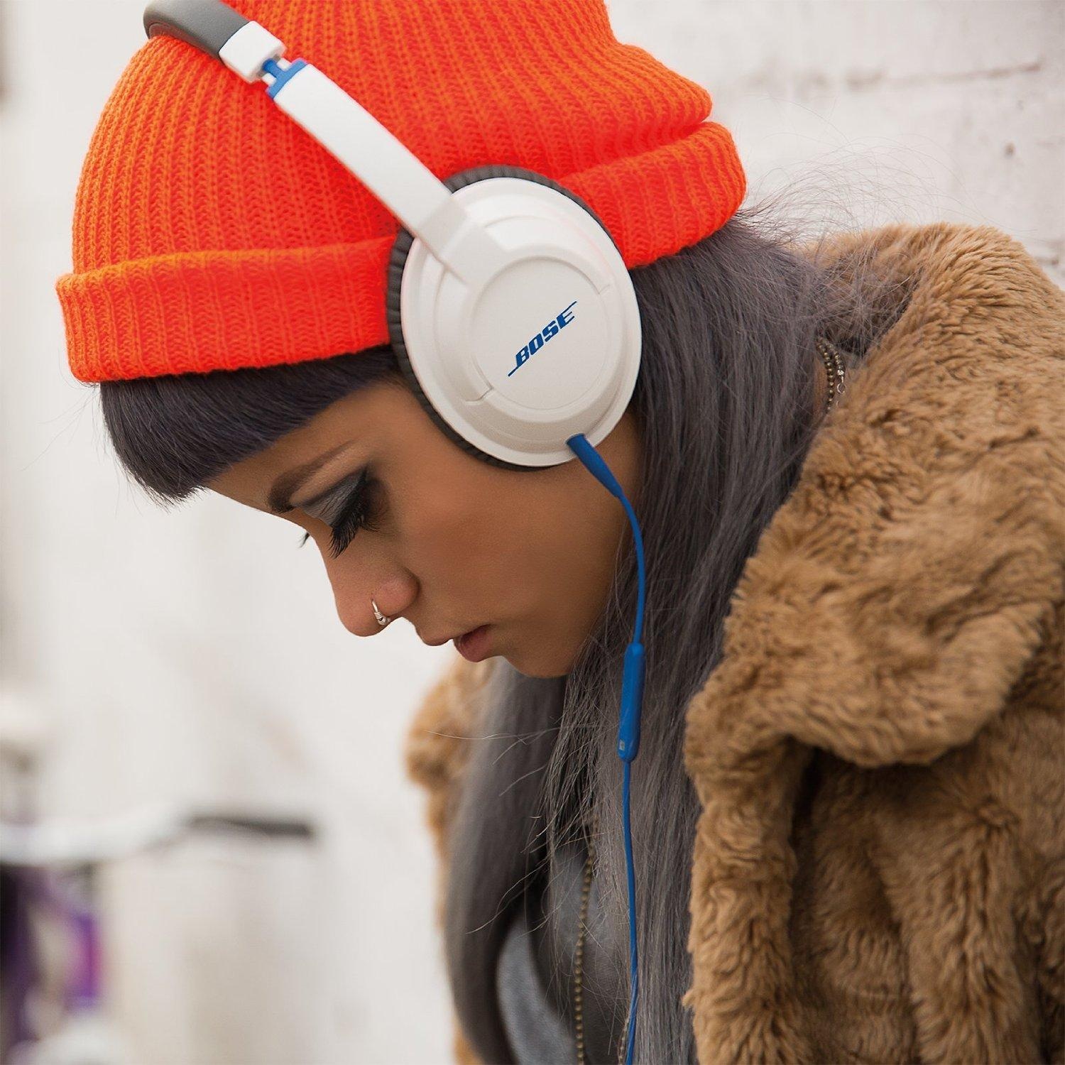 $109.95 Bose SoundTrue Headphones Around-Ear Style, White