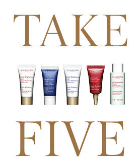 Free 5 Samples with Any Purchase @ Clarins