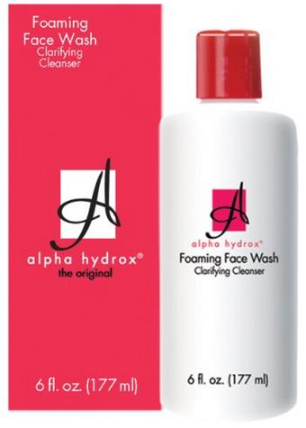 Alpha Hydrox Foaming Face Wash - 6 fl oz