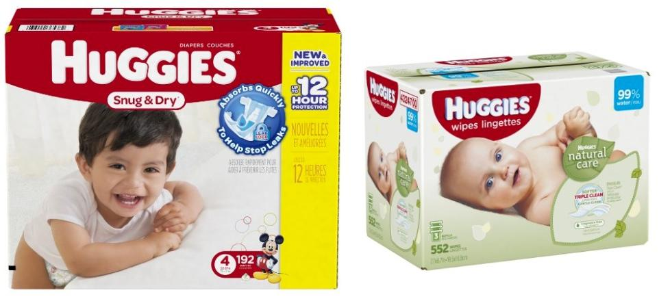 Prime only! 50%off Huggies diaper & wipes
