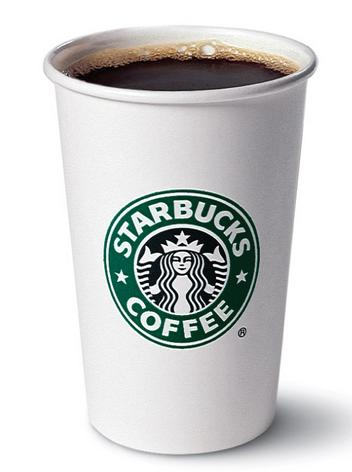 50% off Starbucks Brewed Coffee