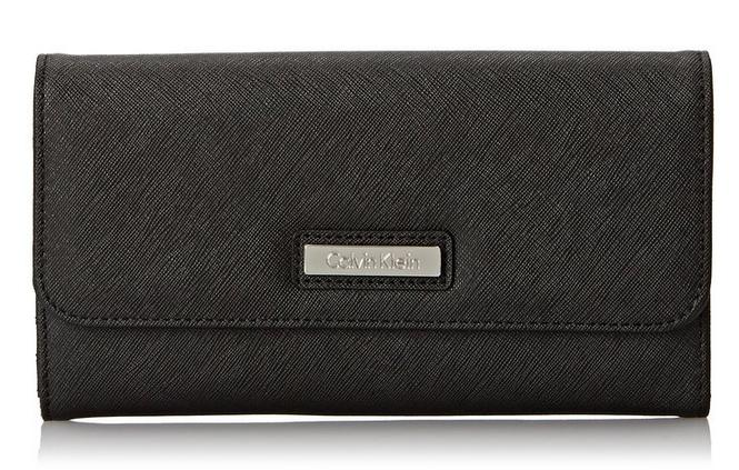 Lowest price! Calvin Klein 2ES Saffiano Wallet