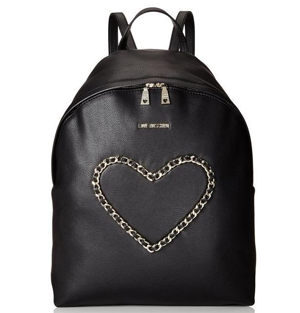 Love Moschino Heart Chain Backpack Bag