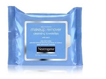 $6.99 Neutrogena Makeup Remover Cleansing Towelettes, Refill Pack, 25 Count