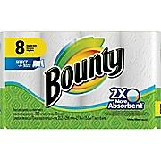 $6.99 Bounty 2-Ply Select-A-Size Paper Towels, 8 Rolls/Case