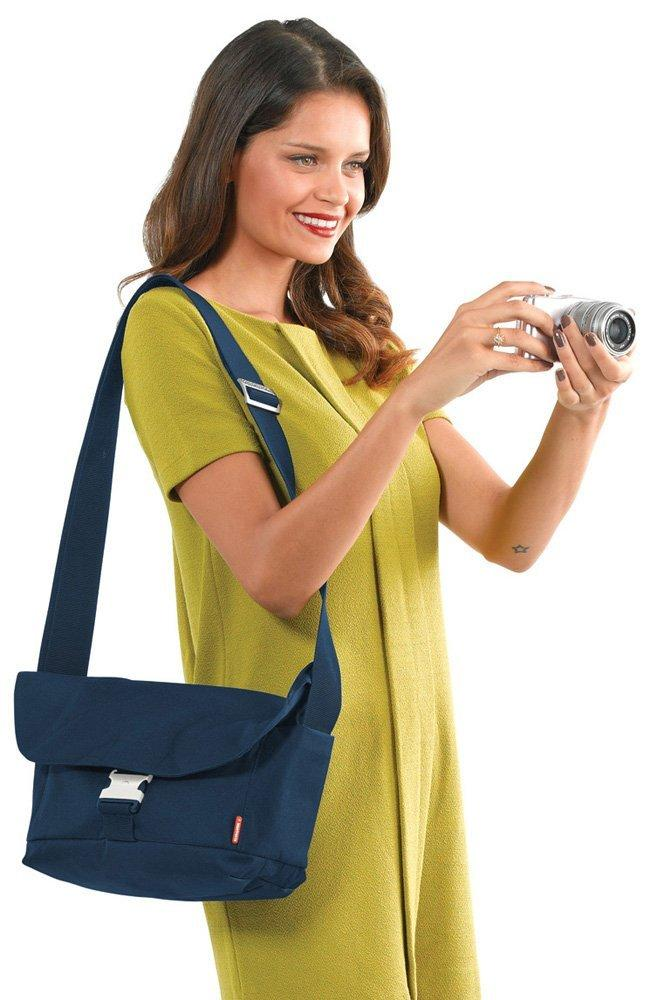 Manfrotto MB SV-MWM-15BI Allegra 15 Messenger (Blue)