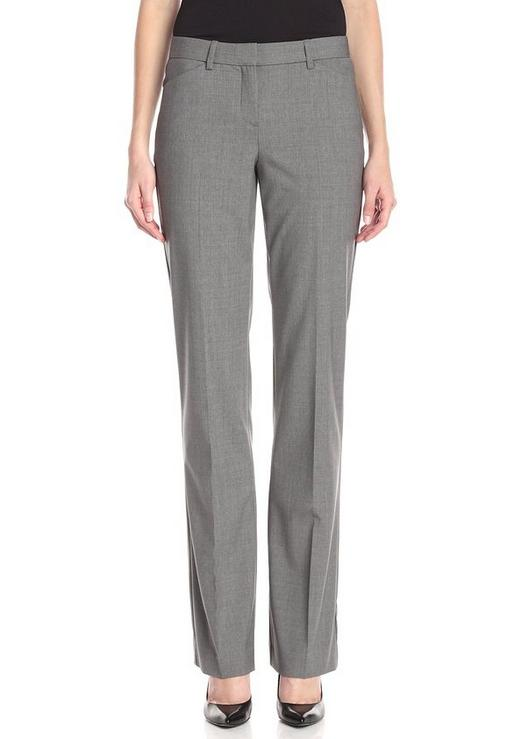 Lightning Deal! Theory Women's Custom Max Edition Pant, Light Grey