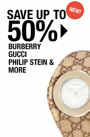 Extra 30%-35% OFF Designer Watches Blowout at Fashion Dash @ LastCall by Neiman Marcus