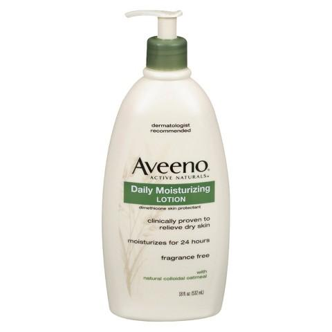 $17.26+$10 Gift Card 3x Aveeno Daily Moisturizing Lotion or Body Wash (18 oz)