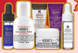 Free 3 Deluxe Samples with Orders over $50 @ Kiehl's