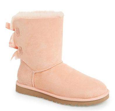 UGG Australia Bailey Bow Genuine Shearling Lined Boot