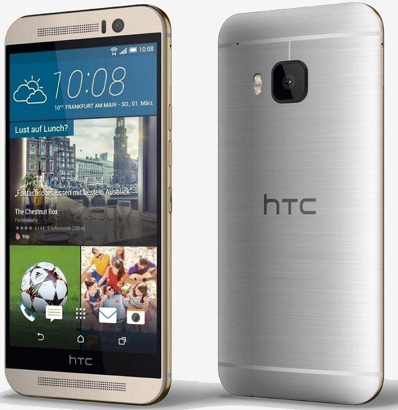"""$399.99 HTC One M9 32GB Factory GSM Unlocked 5.0"""" 20MP Android Smartphone"""