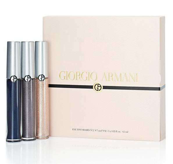 New Release Giorgio Armani launched New Eye Tint Trio