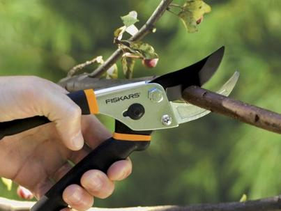 $9.5 Fiskars Traditional Bypass Pruning Shears