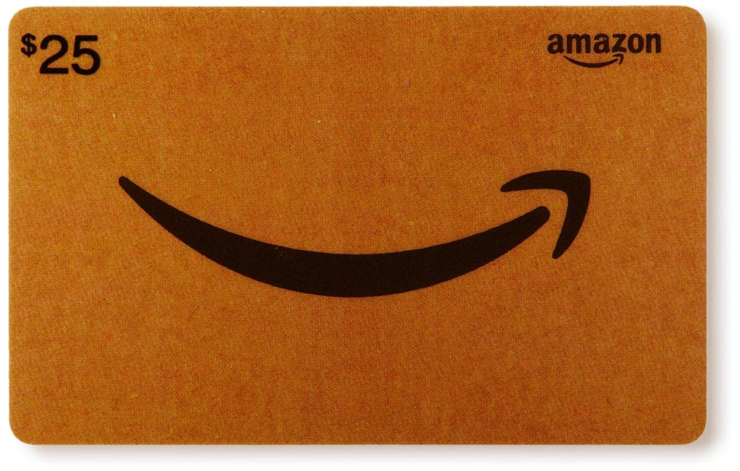 Starts at 12:00am PST on 10/7 Buy $25 Amazon Gift Card, Get $5 Credit