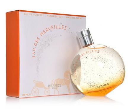 Eau Des Merveilles By Hermes For Women. Eau De Toilette Spray 3.3 Oz