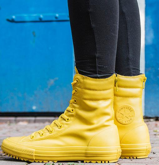 $64.99 Converse Chuck Taylor® All Star® Rubber Hi-Rise Boot X-Hi On Sale @ 6PM.com