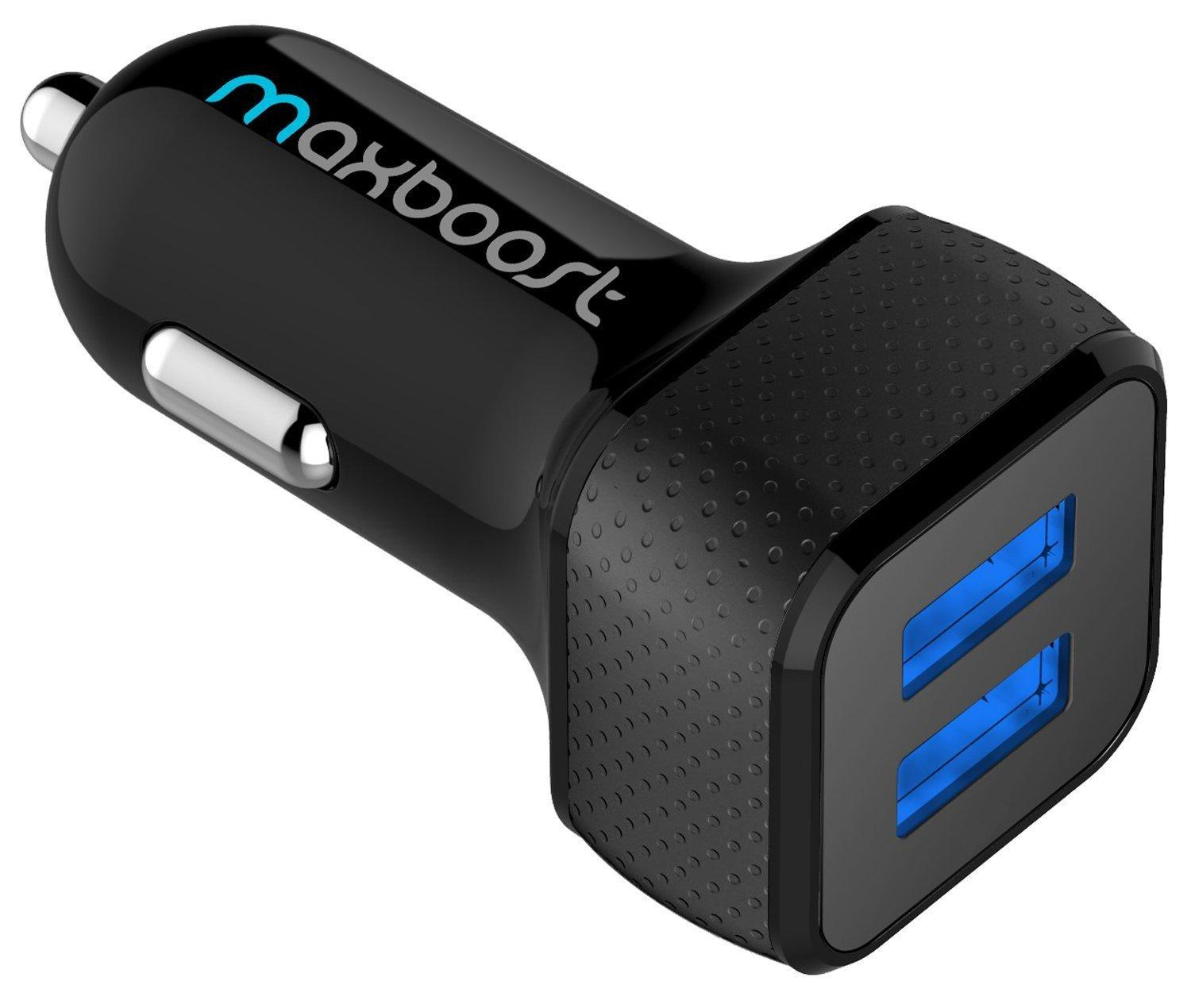 #1 Best Seller! Maxboost 4.8A/24W 2-Port Car Charger