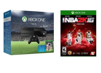$369.99 Xbox One EA Sports FIFA 16 1TB Bundle + Free NBA 2K16