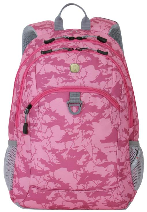 SwissGear Laptop Computer Backpack SA6621 (Pink Camoflage Print)