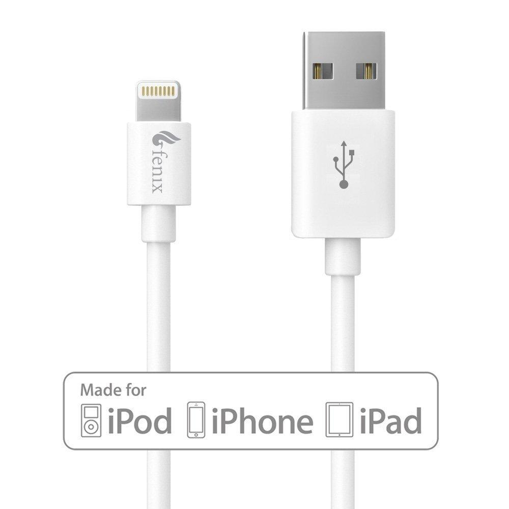 [Apple MFi Certified] Fenix Lightning to USB Data and Charge Cable 3FT / 0.9M