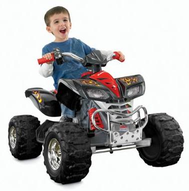 $104.69 Fisher Price Power Wheels Kawasaki KFX