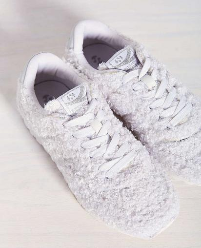 SUPERGA Fuzzy Jam Sneakers On Sale @ Saks Off 5th