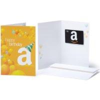 Get a $5 Promotional Credit When You Spen $25 on Select Amazon Gift Cards ( Amazon Student Members Only)