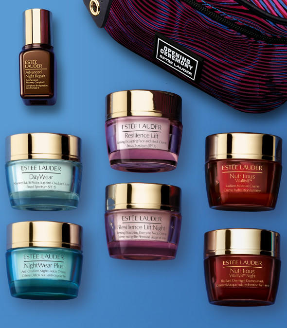 From $60 + Free 11-pcs Gift Limited-time Sets @ Estee Lauder