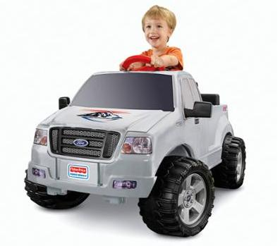 $73.23 Fisher Price Power Wheels Ford F-150