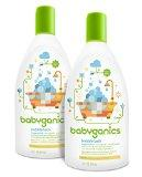 20% Off + Extra 5% Off + Free Shipping Babyganics Bubble Bath, 12oz Bottle, (Pack of 2)  @ Amazon