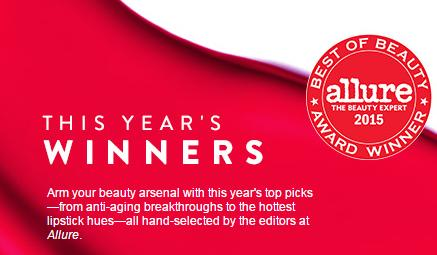 From $8.5 Allure Best of Beauty: 2015 Winners