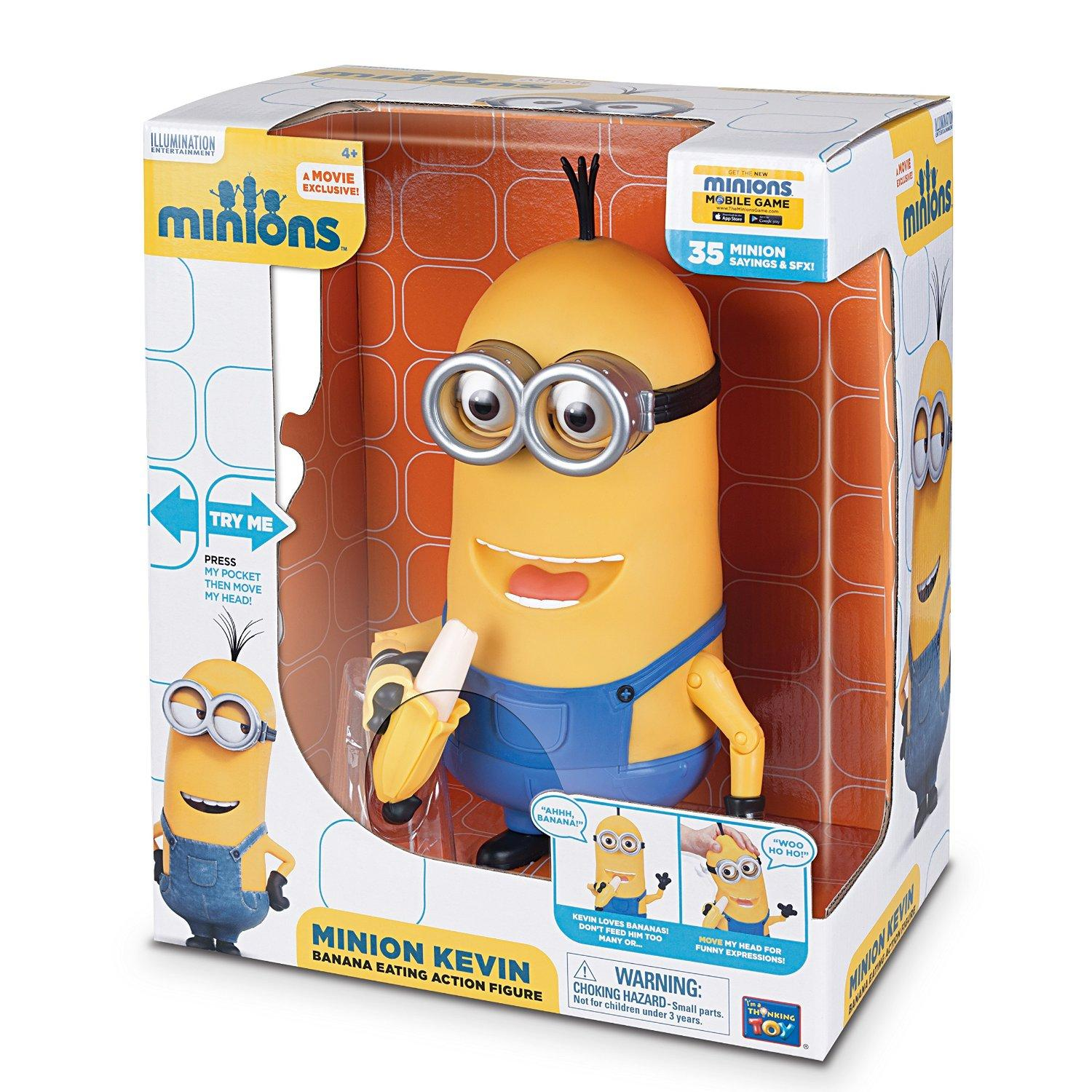 $15.79 Minions Kevin Banana Eating Action Figure