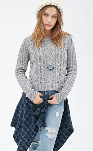 From $12.9 Select Top Sweaters for Fall @ Forever21.com