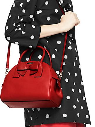 kate spade montrose avenue leeland( in red and black)