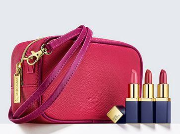 $33.5 + Free Gifts with Evelyn Lauder and Elizabeth Hurley Dream Pink Collection Purchase @ esteelauder.com