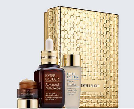 Free 11-pcs Gift (worth over $150) with Advanced Night Repair Essentials Limited Edition purchase @ esteelauder.com