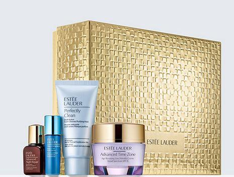 Free 11-pcs Gift (worth over $150) with Anti-Wrinkle Essentials Limited Edition purchase @ esteelauder.com
