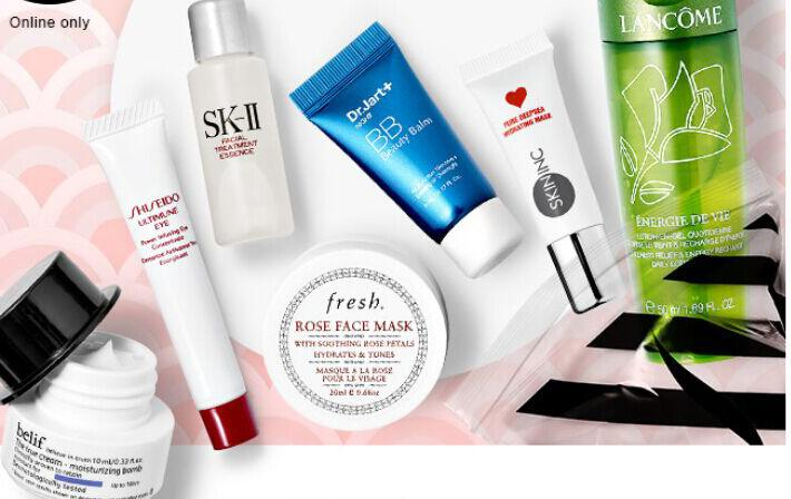 Free 7 Skin Care Minis With Over $35 Purchase @ Sephora.com