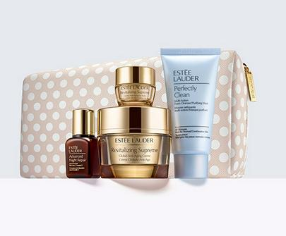 Free 11-pcs Gift (worth over $150) with 5-pc Revitalizing Supreme Creme Set Purchase @ Estee Lauder