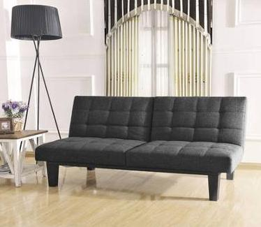 Tweed Memory Foam Futon, Multiple Colors @ Walmart