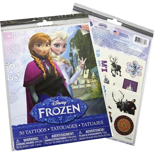 Savvi - Disney Frozen Temporary Tattoos (50-Count)