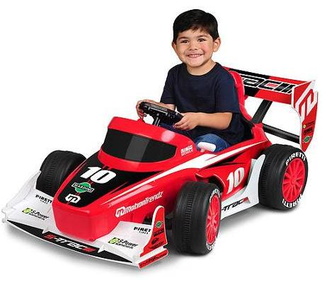 MotionTrendz F1 Racer 6-Volt Battery-Powered Ride-On