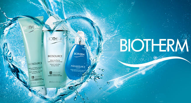 20% Off Any orders @ Biotherm