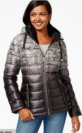 Extra 15% Off Calvin Klein Reversible Printed Puffer Coat @ Mayc's