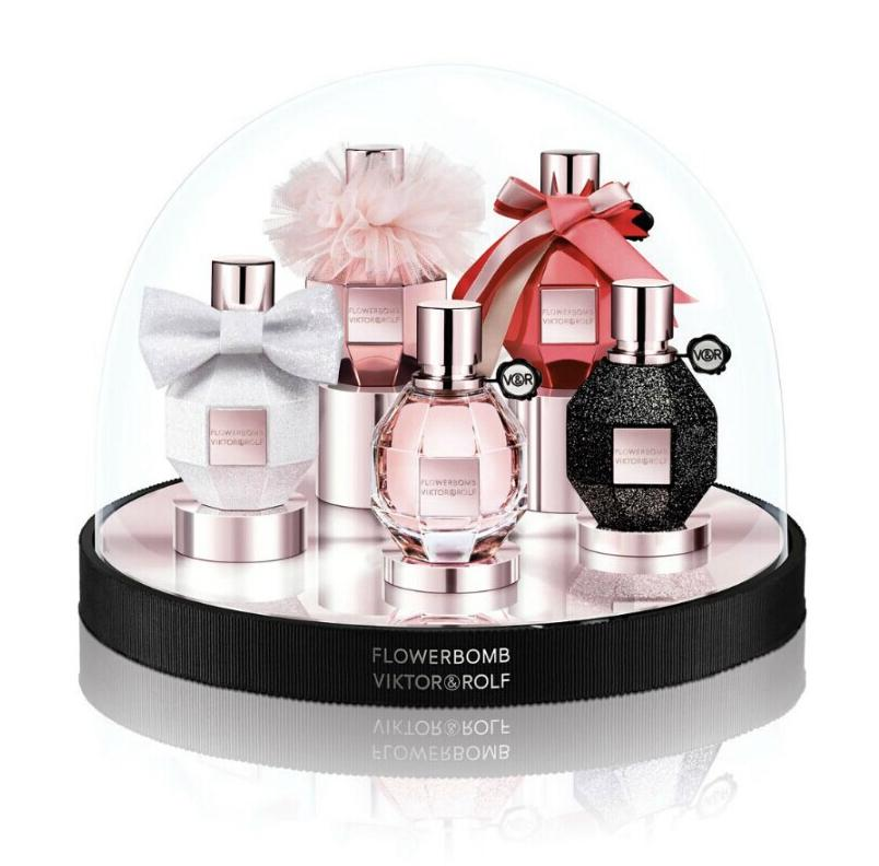 New Release Viktor & Rolf launched New Flowerbomb Snowglobe Collector's Set
